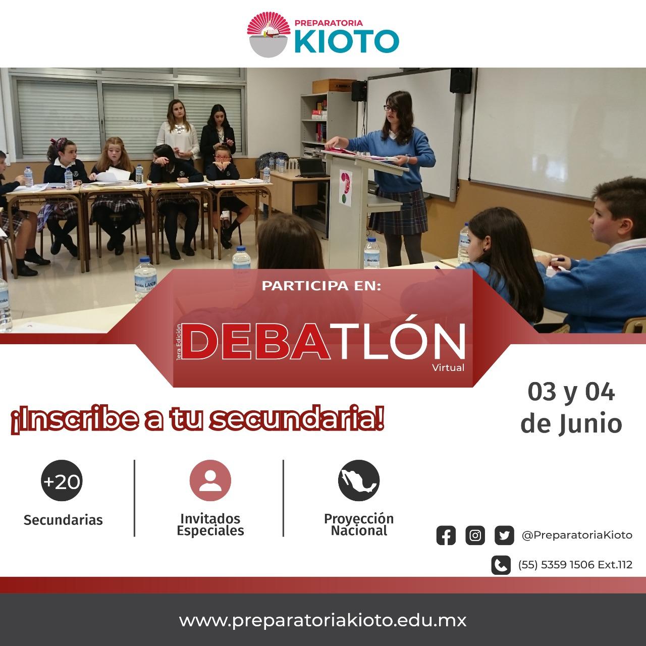 1er Debatlón Preparatoria Kioto
